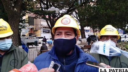 Hugo Padilla, ejecutivo de los constructores en Oruro /LA PATRIA