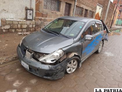 Hubo daños materiales de relativa consideración en los vehículos  /LA PATRIA