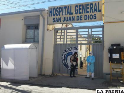 Ante la demanda y aumento de casos de coronavirus en Oruro, se están ampliando a 12 camas /LA PATRIA