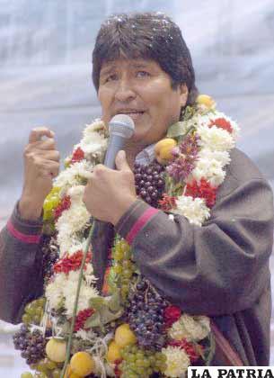 Morales quiere que paren las peleas
