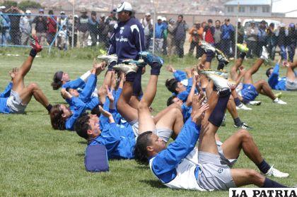 San José reinició sus prácticas con la finalidad de llegar en perfectas condiciones al torneo Apertura.