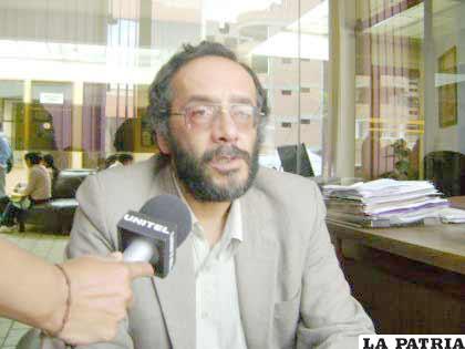 David Ismael, rector de la UTO