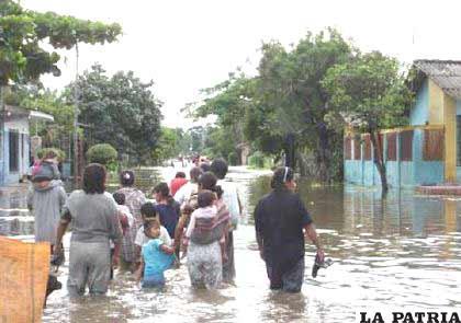 Históricamente, el Beni siempre sufrió los embates de las fuertes lluvias que caen sobre su territorio y también en los departamentos de La Paz y Cochabamba