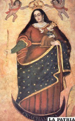 La imagen de la Virgen Morena del Socavón guarda muchos misterios