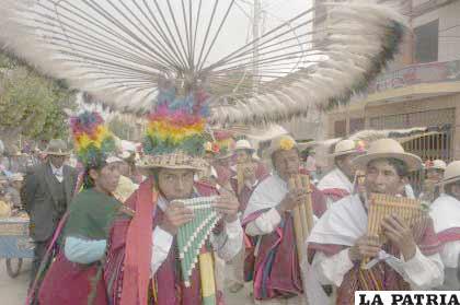 El Jach'a  Anata, es otra atracción como parte del Carnaval de Oruro