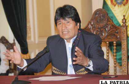 El Presidente Evo Morales tiene nuevas propuestas para la OEA
