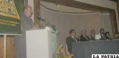 Marcelo Miralles, ejecutivo de LA PATRIA, convocó a la unidad del sector empresarial