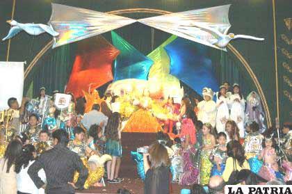 Se espera un lindo espectáculo en el paso de la Corte de la Reinita del Corso Infantil, Daniela Miralles