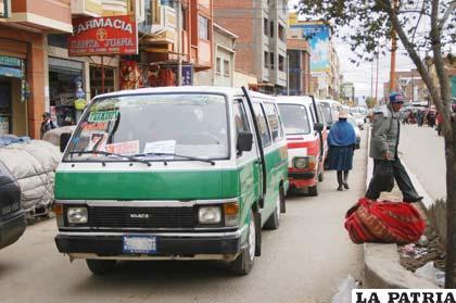 Los transportistas analizan la posibilidad de poner a resguardo sus vehículos