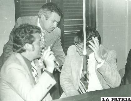 Ramiro Villafañe, Jaime Soria Galvarro y Ramiro Miranda, impulsores de la creación de la Liga