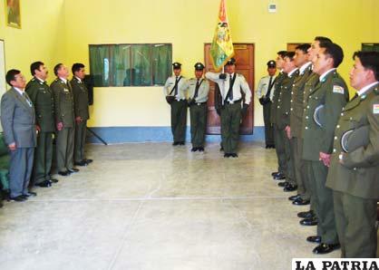 la ceremonia de inauguracion del ano academico policial en ceremonia