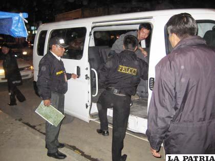 Uno de los súbditos chinos es aprehendido por la Policía