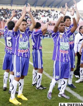 Jugadores de Real Potosí, pretenden sorprender a San José