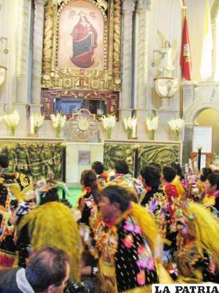Se baila por devoción a la Virgen del Socavón y no por diversión
