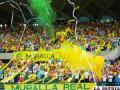 Hinchada de Real Cartagena espera que su equipo debute ganando