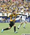 Rodrigo Ramallo, goleador de The Strongest
