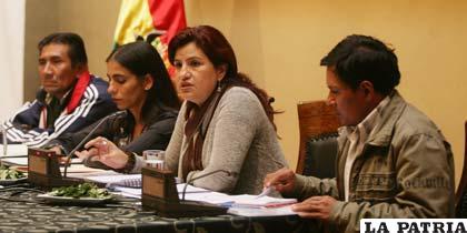 """Tras reunirse con líderes parlamentarias los del Conisur decidieron pedir la """"consulta previa"""""""
