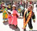 Parte de la Obra Maestra del Patrimonio Oral e Intangible  de la Humanidad se apreció en el Carnaval de los Niños