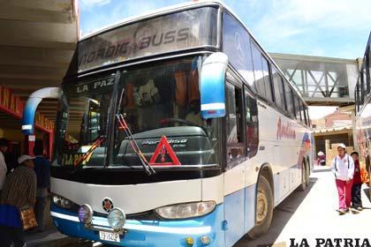 Intensificarán el control en servicios de transporte interdepartamental, durante los días de Carnaval