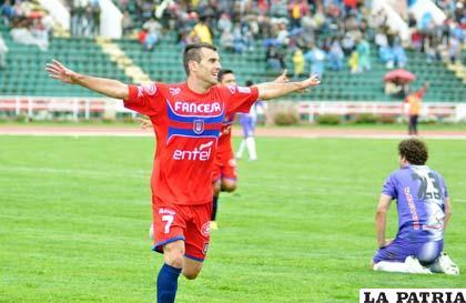 Matías Manzano anotó el segundo de Universitario