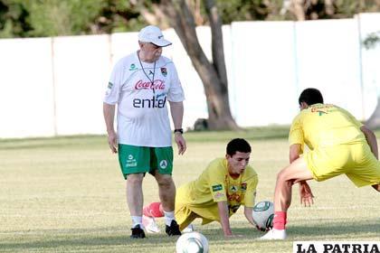 Azkargorta, director técnico de la Selección Nacional