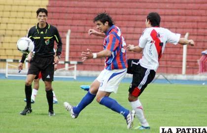 Nacional Potosí no pudo ante La Paz FC (foto: APG)