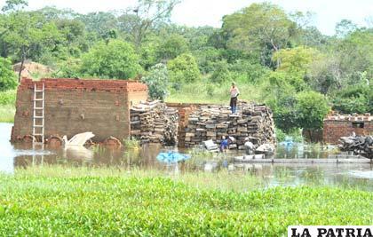 Inundaciones perjudican en la comunicación en el Beni