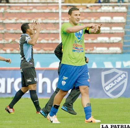 Carlos Neumann anotó el gol del triunfo de San José