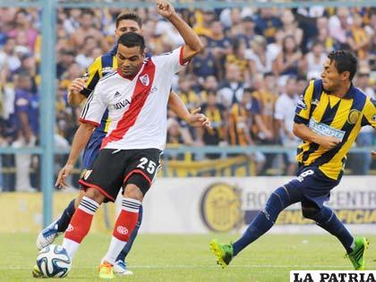 Del partido que empataron River Plate y Rosario Central
