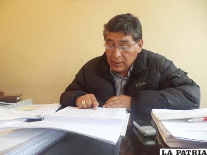 El concejal Uyuni revisó la ejecución presupuestaria del Gobierno Municipal