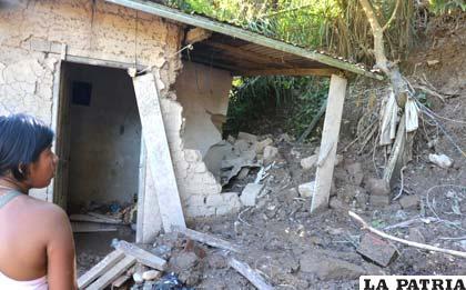 Desastres por las lluvias en distintas zonas de Bolivia