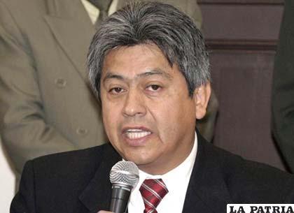 Cossío puede volver a la Gobernación de Tarija