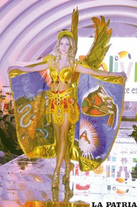 Magníficas mostraron la belleza del Carnaval
