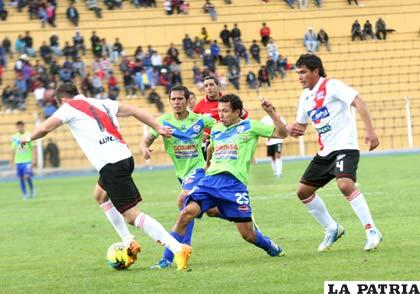 Vargas intenta escapar a la marca de Segovia