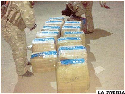Las cajas de medicamentos eran transportadas en forma ilegal