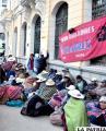 Huelga de Trabajadores de Avance de Obras ingresa en cuarto intermedio