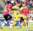 Oriente Petrolero logró un buen empate en Cochabamba ante Wilstermann