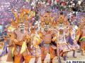El Carnaval de Oruro podría perder recursos por transmisión televisiva