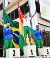 Quispe ganó la prueba de los 50 Km.  en el Sudamericano de Marcha