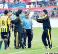 """Marcelo Ortubé: """"El árbitro hizo  lo que tenía que hacer"""""""