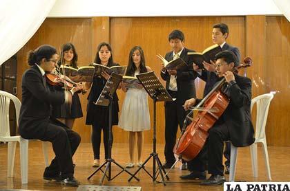 Performance del Ensemble Antiqva Mvsicvm