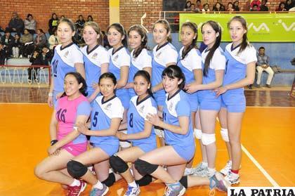 Selección de Oruro en la categoría Sub-23