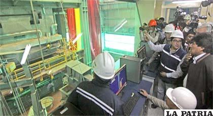 Se espera un trabajo técnico para completar el funcionamiento del Ausmelt