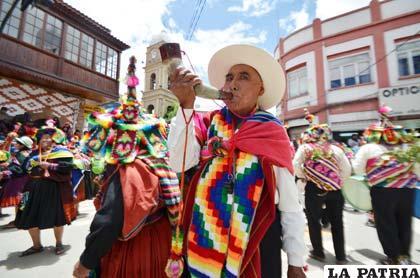 El llamado de la Anata Andina llegó a Oruro