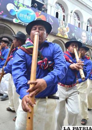 La moceñada de Inquisivi-La Paz