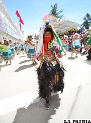 Presencia imponente del Ayllu Jilanq'o Tayaquira