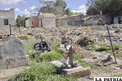 Cementerio general y sus reas apacibles for Cementerio jardin la paz bolivia