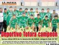 Deportivo Totora Campeón