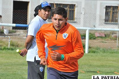 Mario Parrado trabaja en la parte física