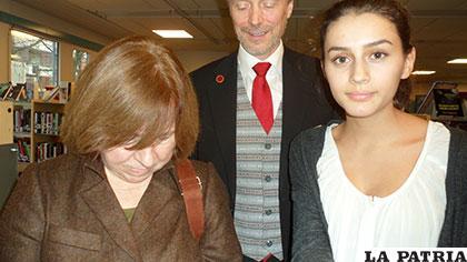 Svetlana visita la escuela sueca de Rinkeby